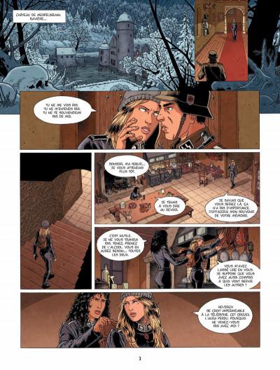 Page 2 Hindenburg tome 3 - La foudre d'Ahota