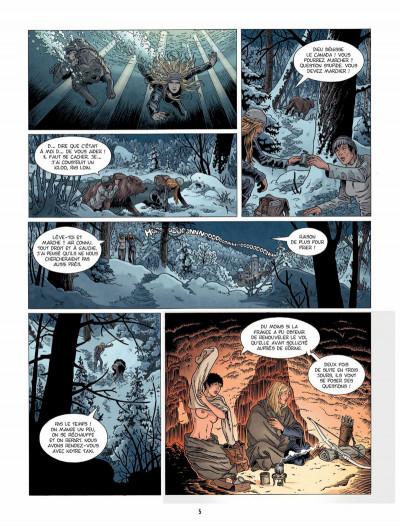 Page 4 Hindenburg tome 3 - La foudre d'Ahota
