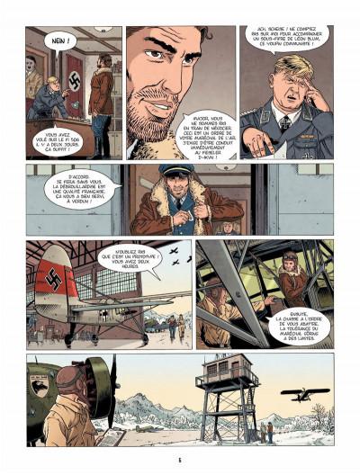 Page 5 Hindenburg tome 3 - La foudre d'Ahota