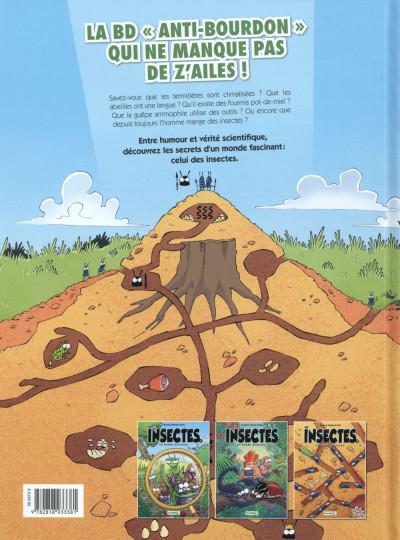 Dos Les Insectes en BD tome 3