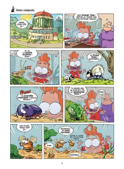 Page 4 Les Insectes en BD tome 3