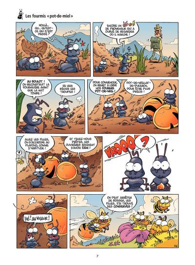 Page 8 Les Insectes en BD tome 3