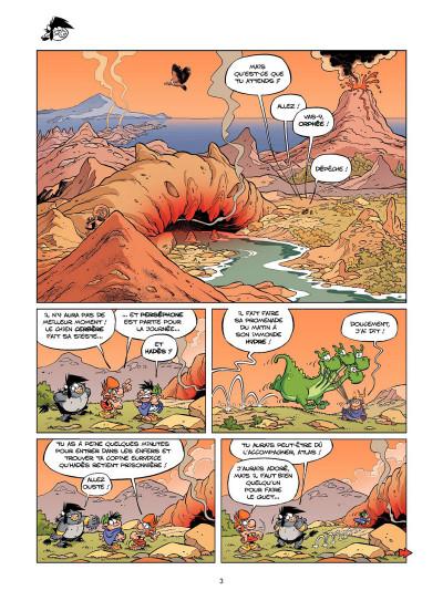 Page 2 Les Petits Mythos tome 5 - Détente aux Enfers