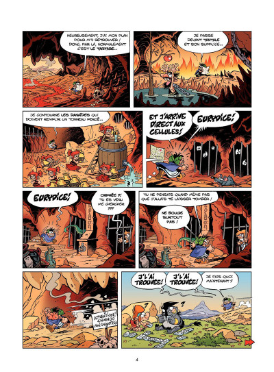 Page 3 Les Petits Mythos tome 5 - Détente aux Enfers