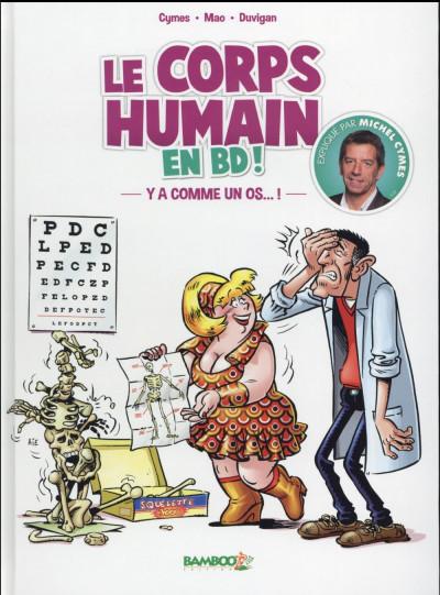 image de Le corps humain en BD ! Y'a comme un os… !
