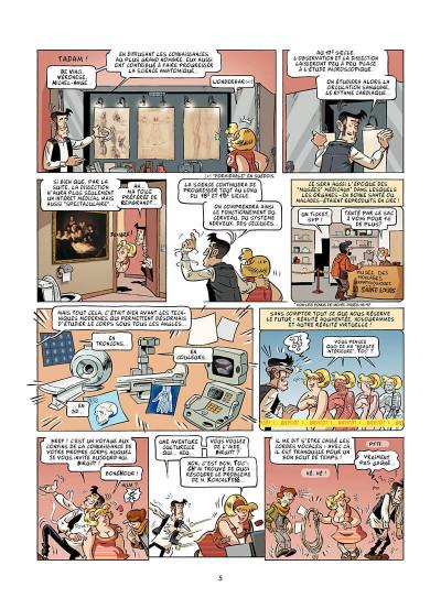 Page 6 Le corps humain en BD ! Y'a comme un os… !