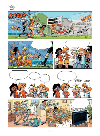 Page 3 Les footmaniacs tome 13