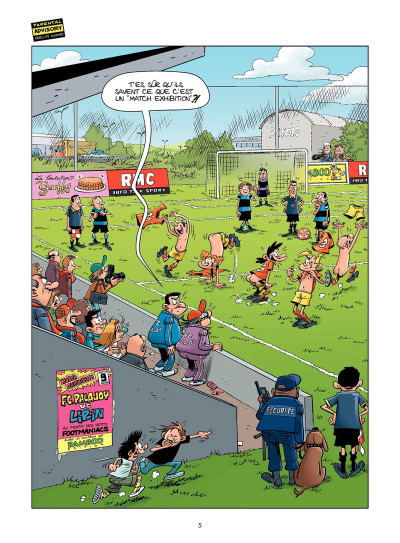 Page 4 Les footmaniacs tome 13