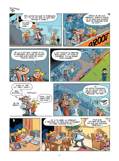 Page 6 Les footmaniacs tome 13