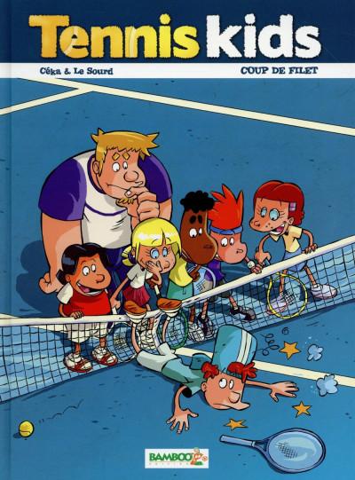 image de Tennis Kids tome 2 - Coup de filet