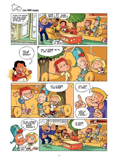 Page 2 Tennis Kids tome 2 - Coup de filet