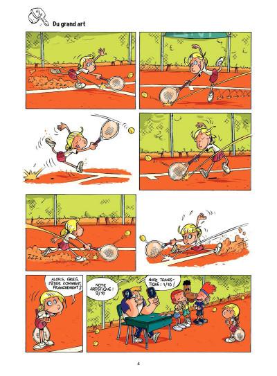 Page 3 Tennis Kids tome 2 - Coup de filet