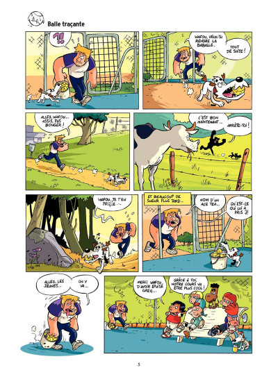 Page 4 Tennis Kids tome 2 - Coup de filet