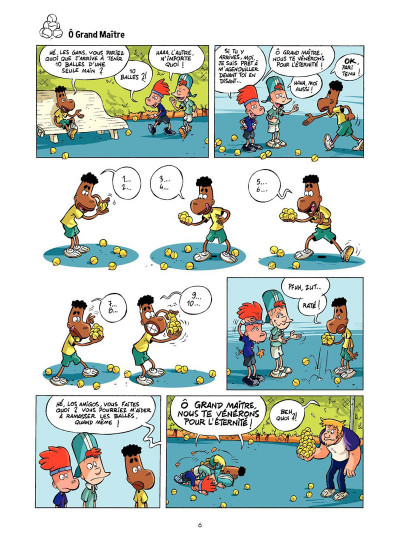 Page 5 Tennis Kids tome 2 - Coup de filet