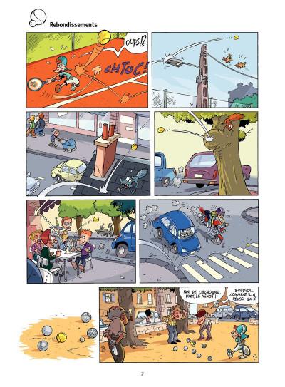 Page 6 Tennis Kids tome 2 - Coup de filet
