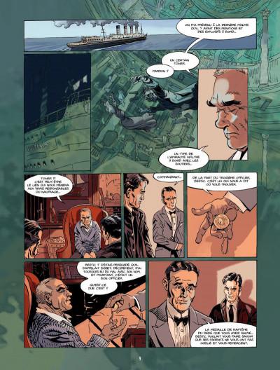 Page 8 S.O.S Lusitania tome 3