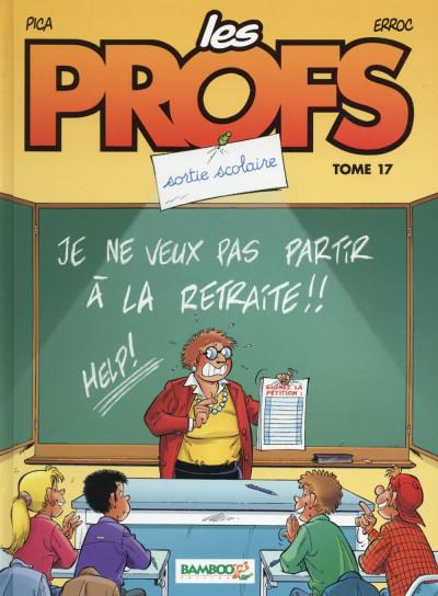 Couverture Les Profs tome 17 - Sortie scolaire