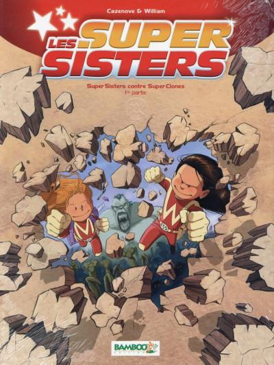 Couverture Les Super Sisters tome 2 - Partie 1 (sous étui)