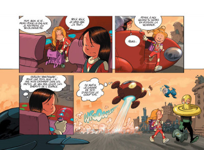 Page 5 Les Super Sisters tome 2 - Partie 1 (sous étui)