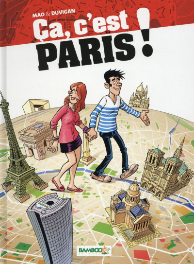 Couverture Ca, c'est Paris ! tome 1