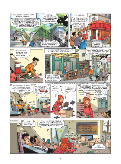 Page 5 Ca, c'est Paris ! tome 1