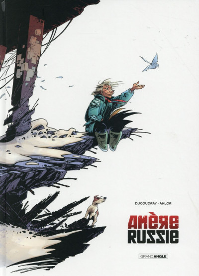 Couverture Amère Russie - Intégrale N&B tome 1 + tome 2