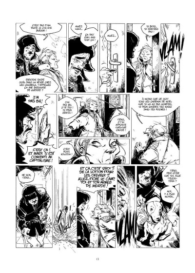 Page 0 Amère Russie - Intégrale N&B tome 1 + tome 2