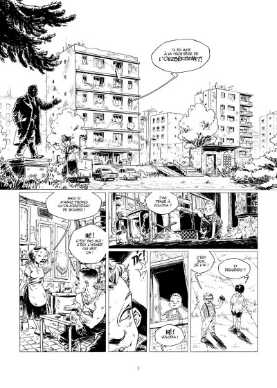 Page 2 Amère Russie - Intégrale N&B tome 1 + tome 2