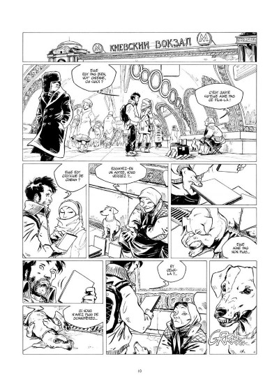 Page 7 Amère Russie - Intégrale N&B tome 1 + tome 2