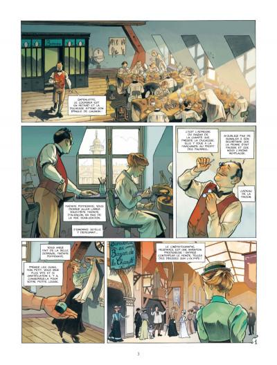 Page 1 Les Naufragés du Métropolitain tome 1 - les rats de Saint-Eloi