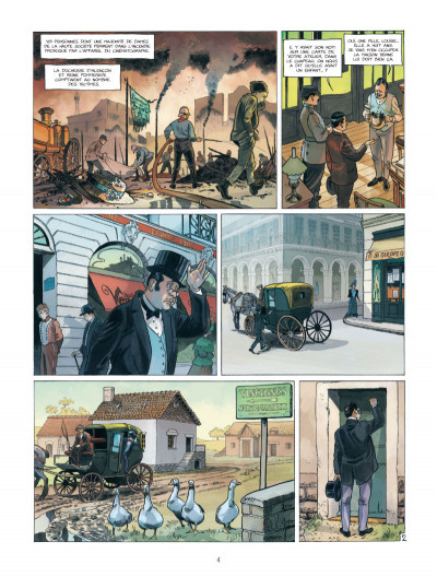 Page 2 Les Naufragés du Métropolitain tome 1 - les rats de Saint-Eloi