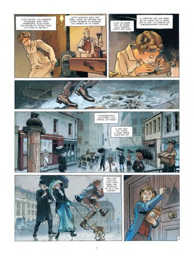 Page 5 Les Naufragés du Métropolitain tome 1 - les rats de Saint-Eloi