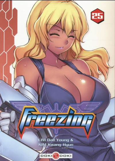 Couverture Freezing tome 25