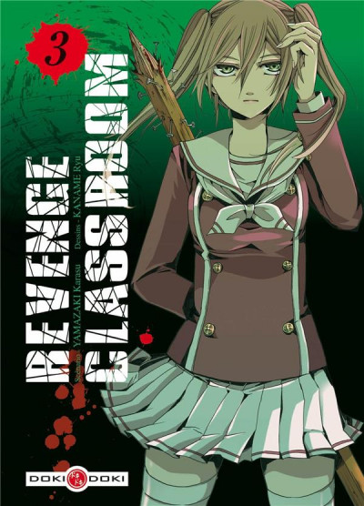 Couverture Revenge Classroom tome 3