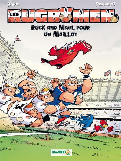 Couverture Les Rugbymen tome 13