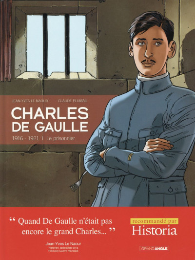 Couverture Charles de Gaulle tome 1