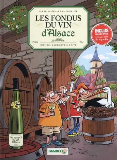 Couverture Les Fondus du vin - Alsace