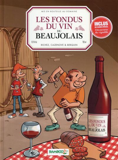 Couverture Les Fondus du vin - Beaujolais