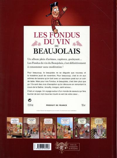 Dos Les Fondus du vin - Beaujolais