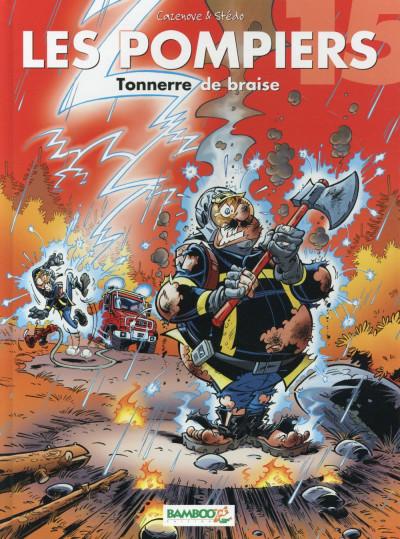 image de Les Pompiers tome 15 - Tonnerre de braise