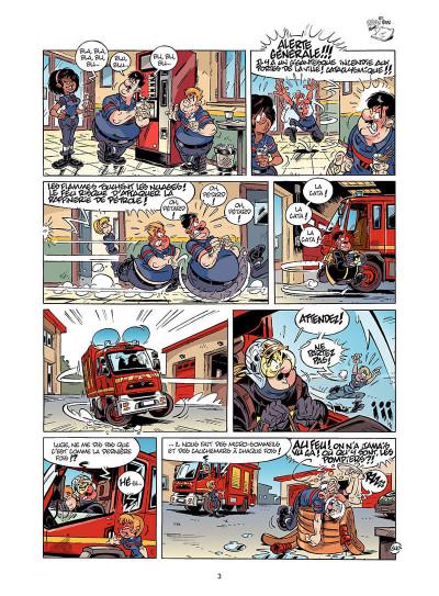 Page 4 Les Pompiers tome 15
