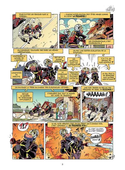 Page 6 Les Pompiers tome 15