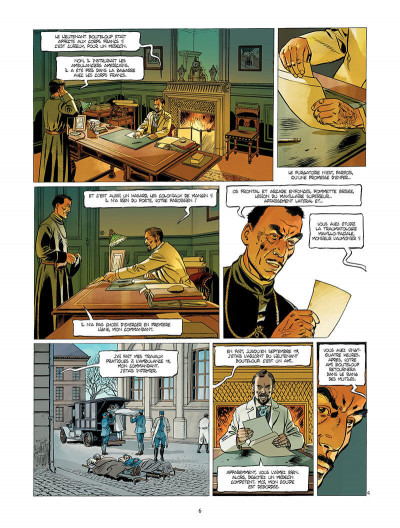 Page 7 L'Ambulance 13 tome 6