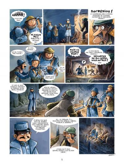 Page 3 Les godillots tome 4