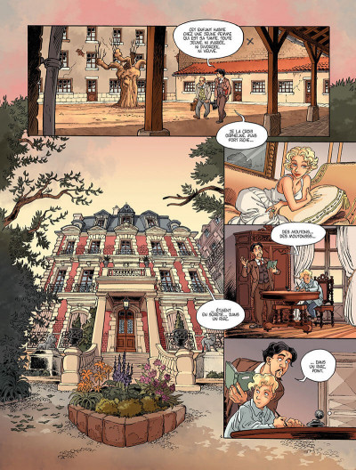 Page 6 Topaze tome 1