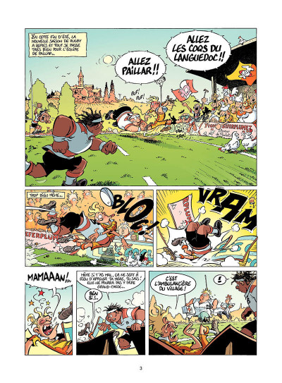 Page 4 Les rugbymen tome 14