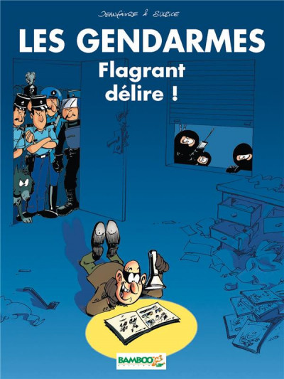 Couverture Les Gendarmes tome 1 - Top Humour 2016