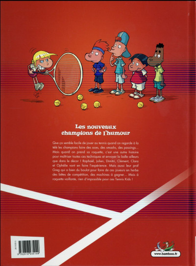 Dos Tennis Kids tome 1 - Top Humour 2016