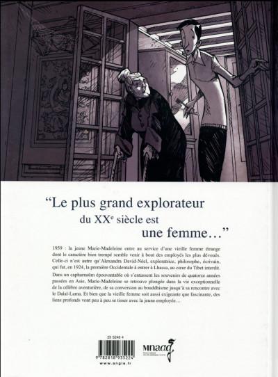 Dos Une vie avec Alexandra David-Néel tome 1