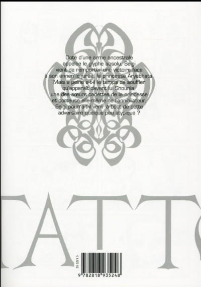 Dos Taboo tattoo tome 9